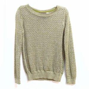 ANTHROPOLOGIE Guinevere Glimmer Hemp sweater